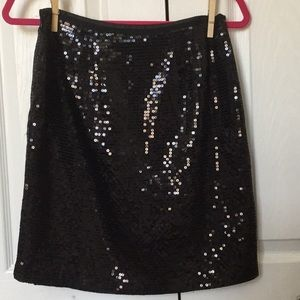 Ann Taylor Sequined Skirt